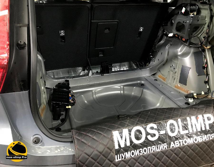 шумоизоляция багажника вольво хс40