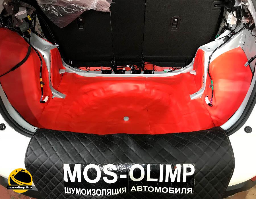 шумоизоляция багажника мазда сх 5