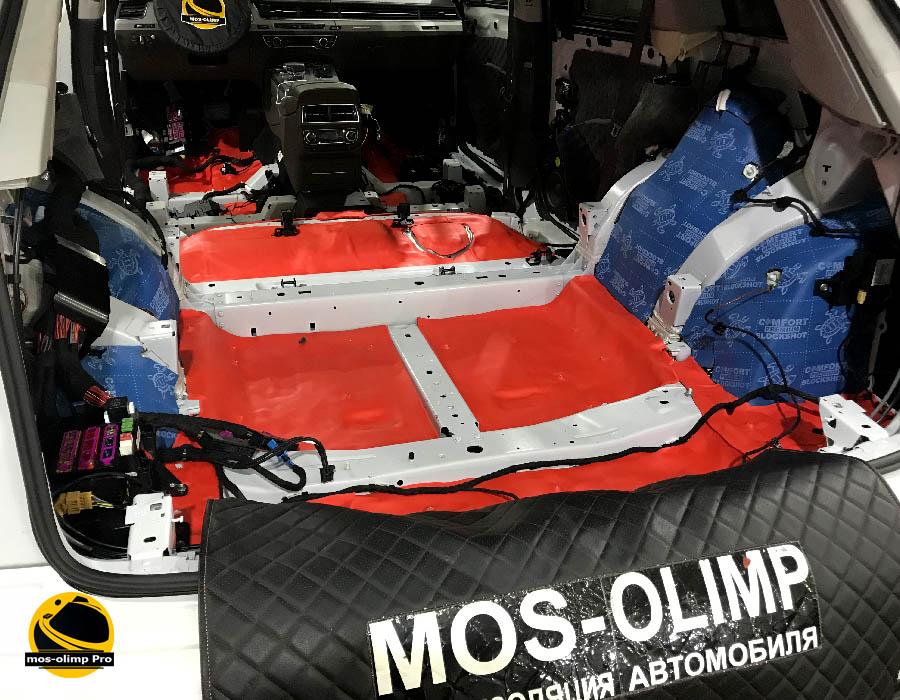 шумоизоляция багажника q7