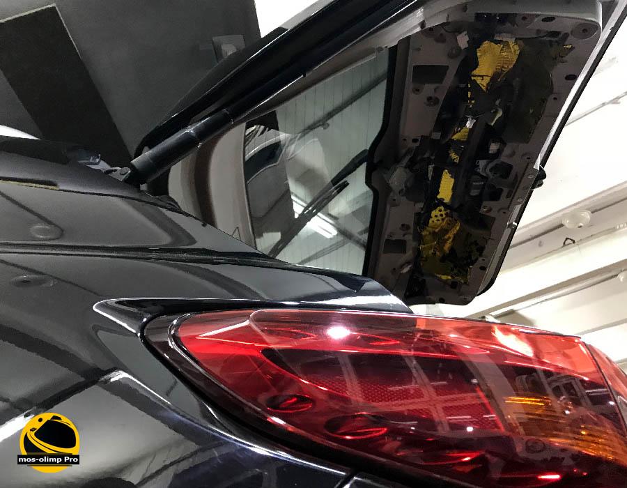 виброизоляция крышки багажника инфинити fx
