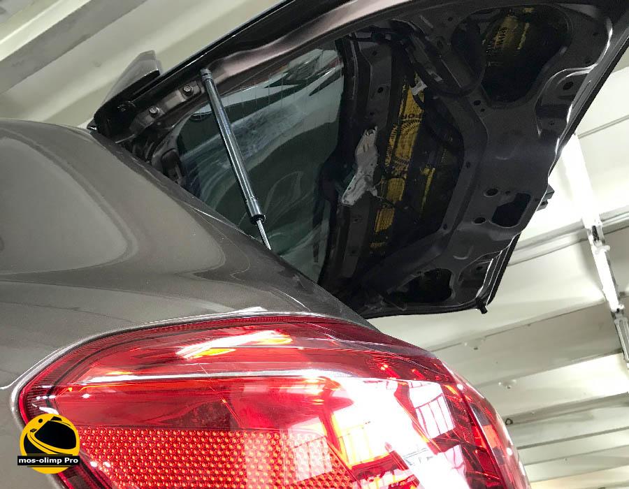 виброизоляция крышки багажника хавал н6