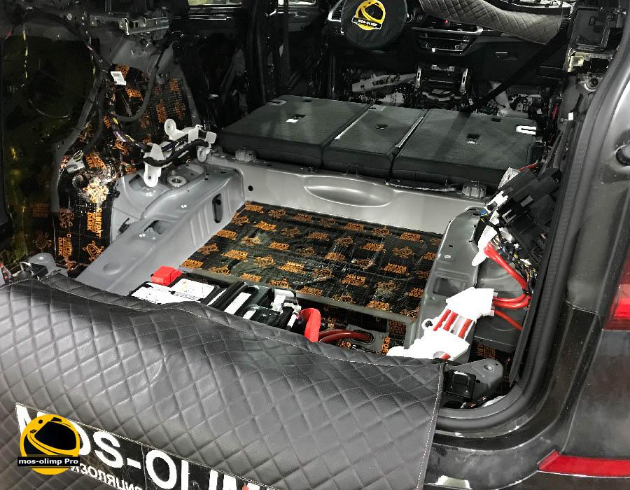 шумоизоляция багажника бмв х 3