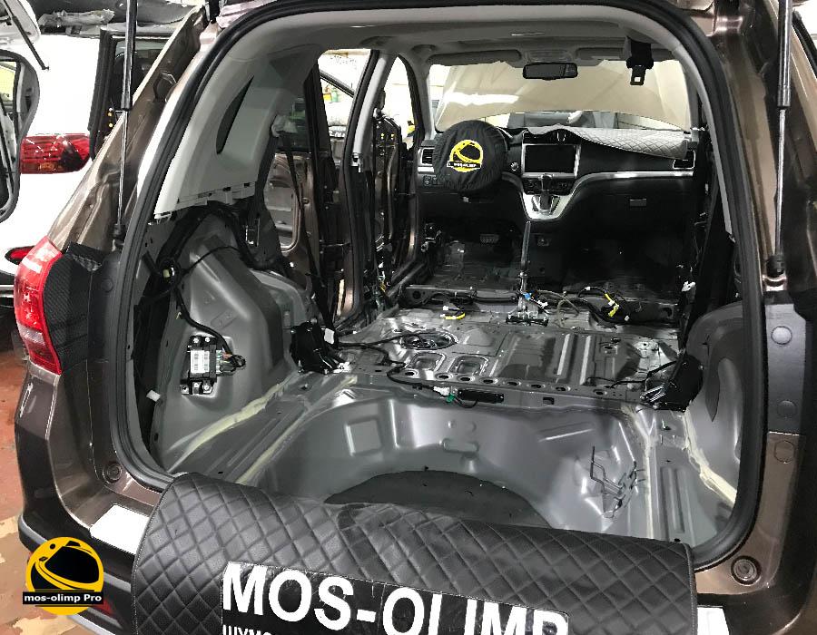 шумоизоляция багажника хавал н6