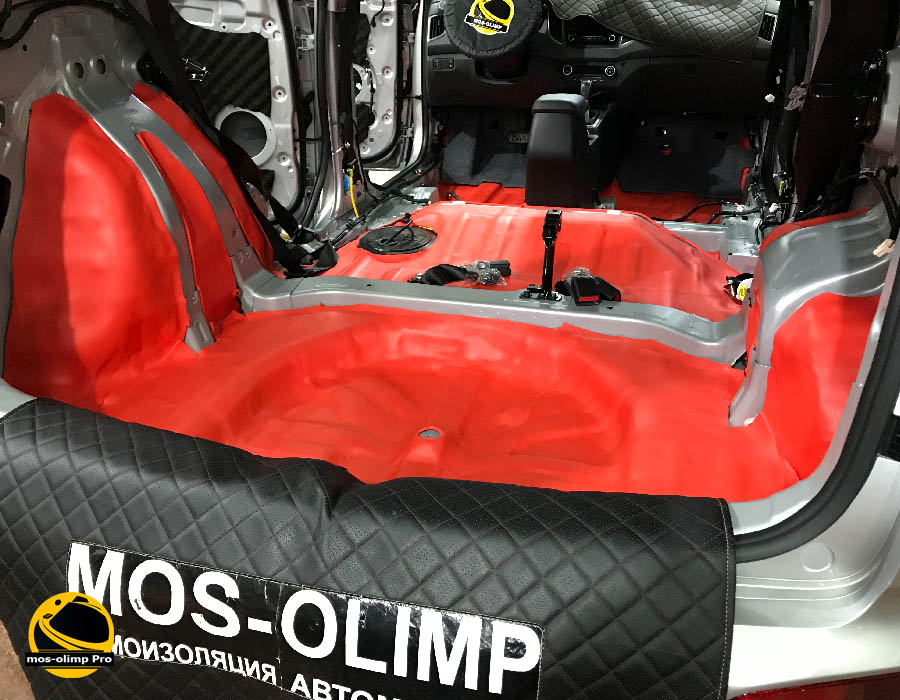 шумоизоляция багажника хендай крета