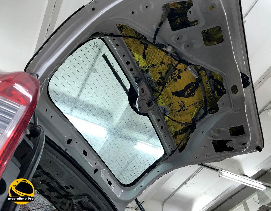 шумоизоляция пятой двери хонда срв 2017