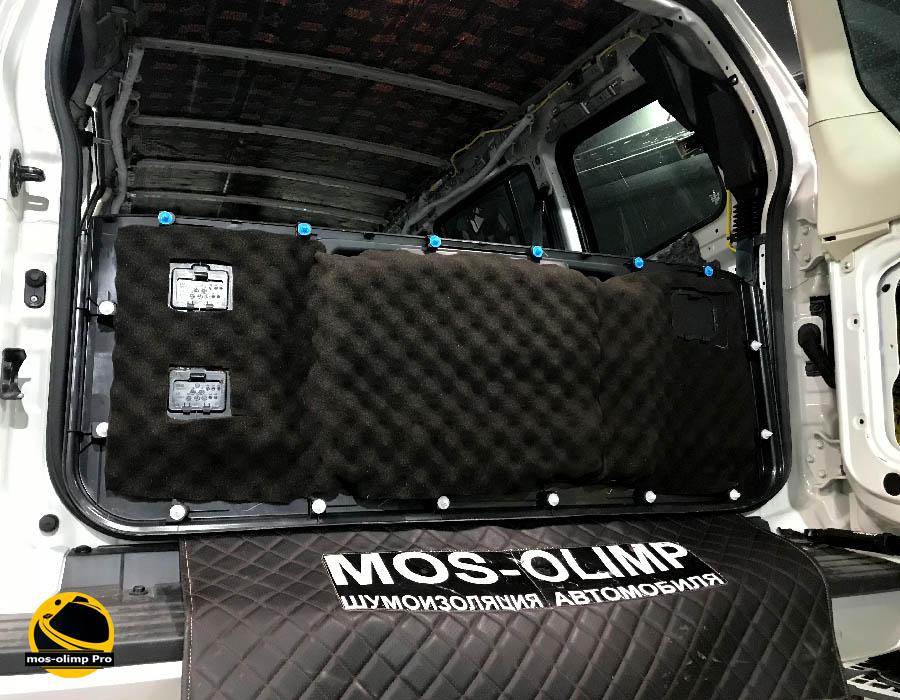 звукоизоляция крышки багажника паджеро 4