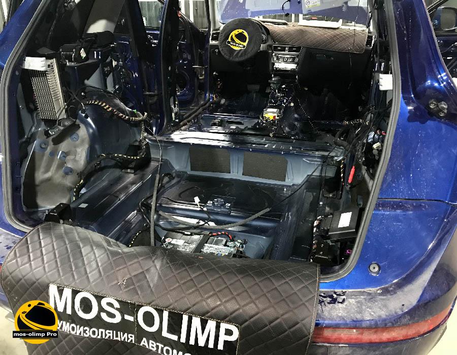 шумоизоляция багажника q5