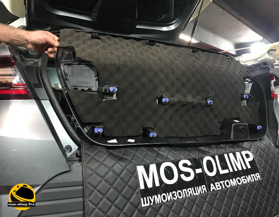 шумоизоляция крышки багажника аркана
