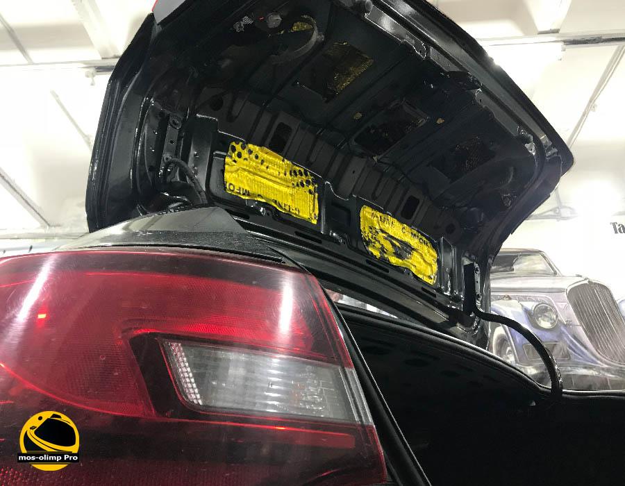 шумоизоляция крышки багажника опель астра j