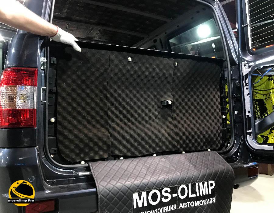 шумоизоляция крышки багажника уаз патриот