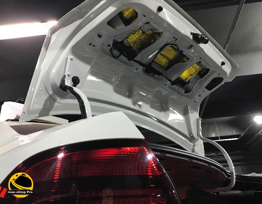 шумоизоляция крышки багажника поло седан
