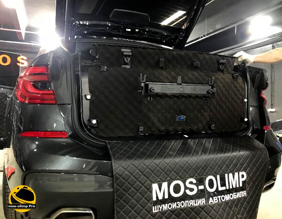 шумоизоляция крышки багажника бмв 630