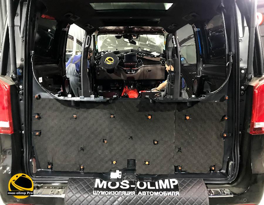 шумоизоляция крышки багажника виано