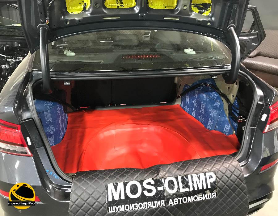 шумоизоляция автомобиля киа оптима