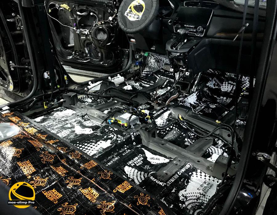 шумоизоляция хонда срв 5