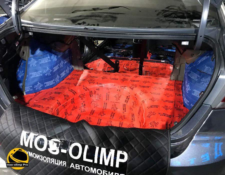 шумоизоляция багажника элантра
