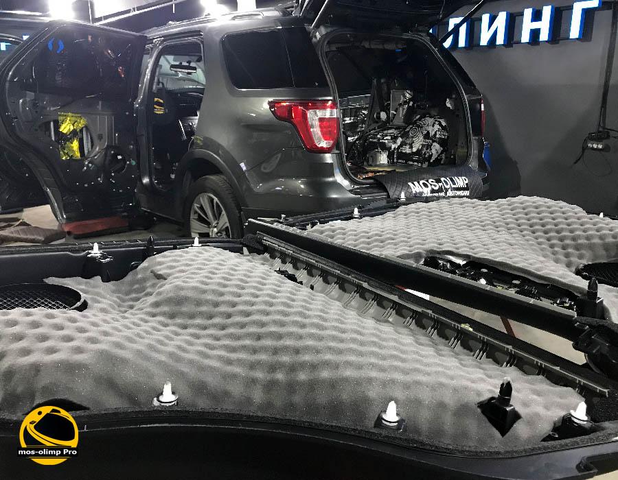 шумоизоляция форд эксплорер