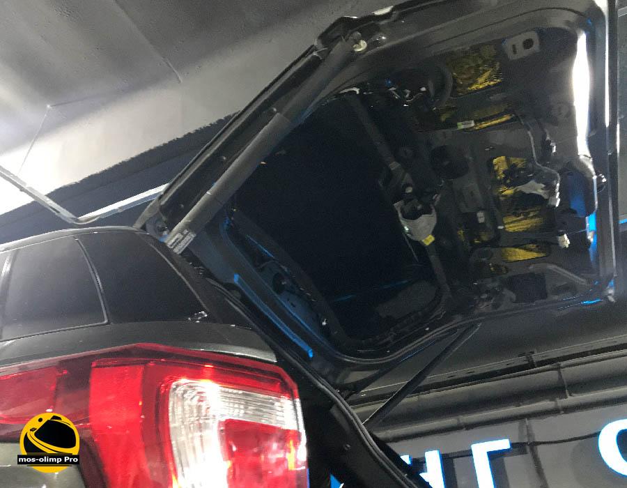 шумоизоляция форд эксплорер 5