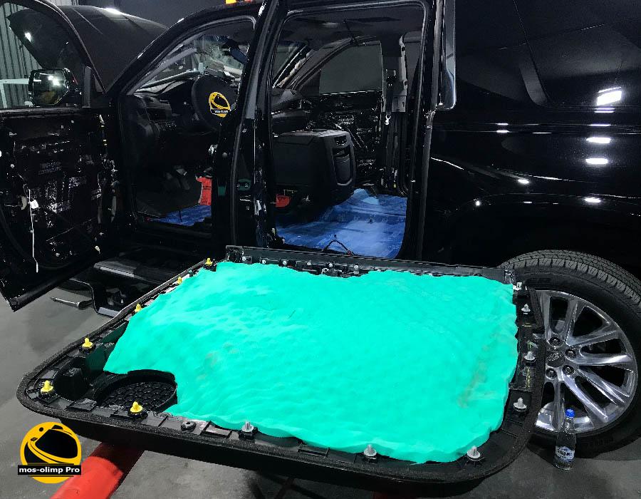 шумоизоляция Cadillac Escalade