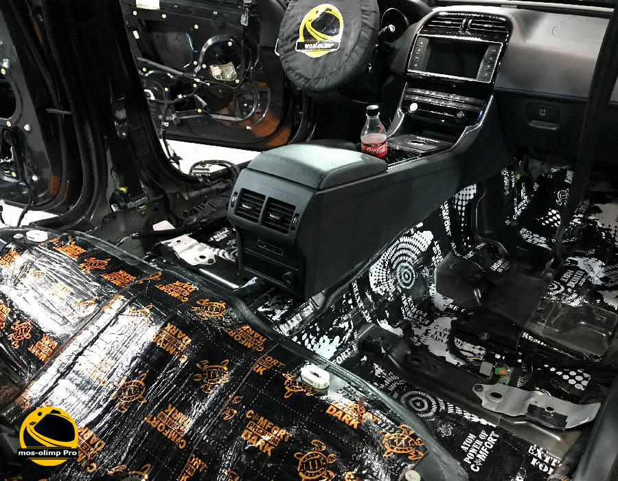шумоизоляция jaguar xe