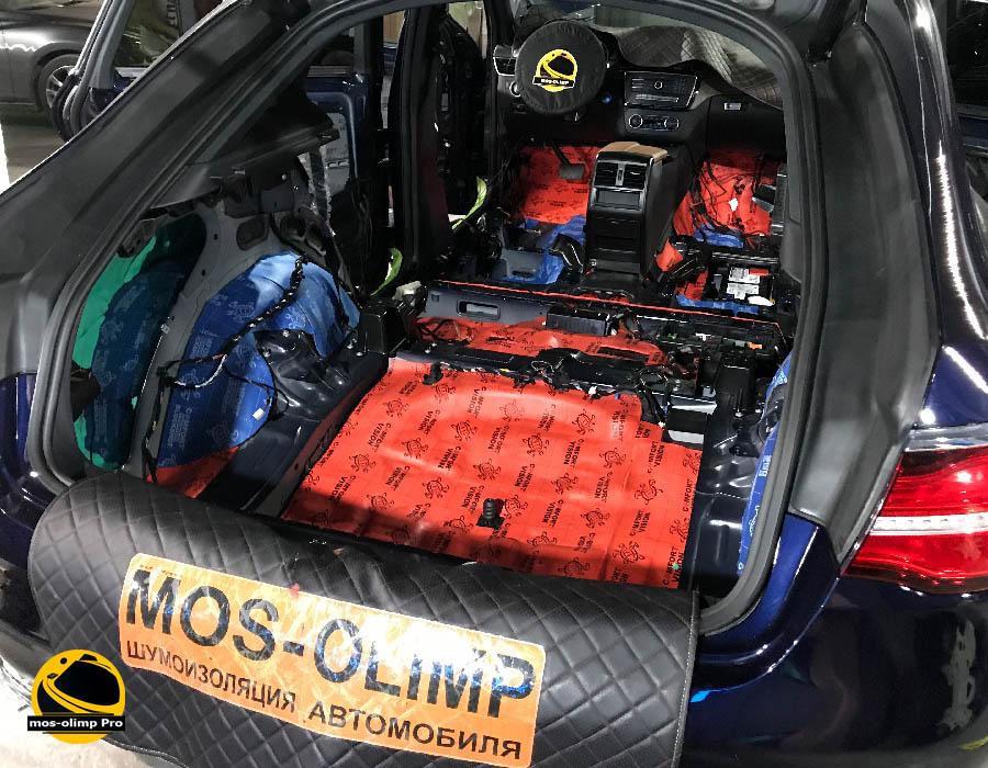 шумоизоляция gle coupe 350
